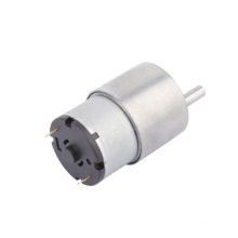 Motor elétrico do motor da engrenagem da CC 12V de 37mm com engrenagem de redução