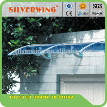 Plastic transparent polycarbonate sheet balcony roof covering/covers