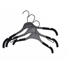 Black plastic  shirt hanger clothes