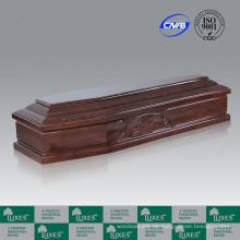 Meistverkauften europäischen Stil Beerdigung Sarg und Schatulle