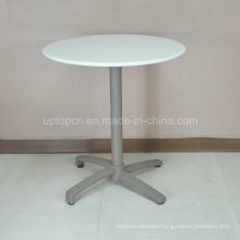 (SP-AT380A) Outdoor White Plastic Top Patio Folding Dining Table