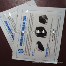 Tarjeta de limpieza en PVC (EN STOCK)