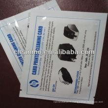 Carte de nettoyage en PVC (EN STOCK)