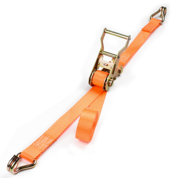 "Tay cầm bằng kim loại 1,5 ""3 tấn 38mm Ratchet Buckle Car Tie Down Lashing Belt with 1.5 Inch Close Rave Hook"