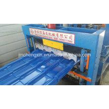 Teja de teja galvanizada que forma la máquina