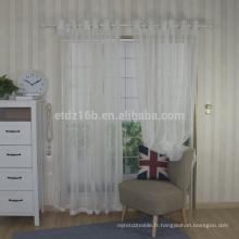 Nouveau tissu de fenêtre à voile polyester polyester