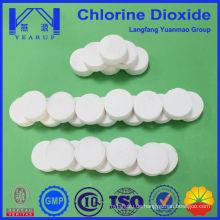 20 Gramm schäumende Chlordioxid-Tabletten für die Trinkwasseraufbereitung