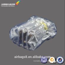 Sacos de bolha à prova de choque e sacos de ar infláveis para garrafa embalagem