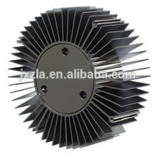 Промышленный светодиодный профиль круглый алюминиевый прессованный радиатор / радиатор для светодиодов