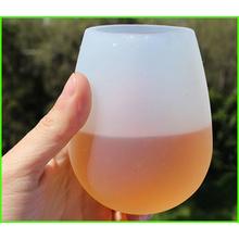 Copos inquebráveis de SILICONE vinho ou cerveja flexíveis