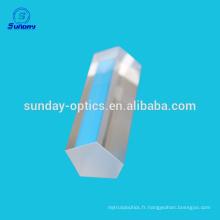 Prisme optique en verre de haute précision