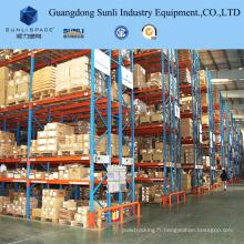 Q235B Support de palette de stockage d'entrepôt