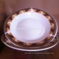 diseño encantador placa de cerámica omega, placa profunda