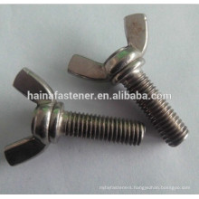stainless steel Wing Bolt,wing bolt with nut,machine wing bolt