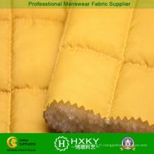 100% polyester matelassé pour veste matelassée