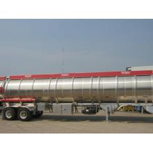 Best Quality for Aluminum Fuel Tanker Truck Aluminum Fuel Tank Semi-Trailer with 2 axles export to Qatar Factories