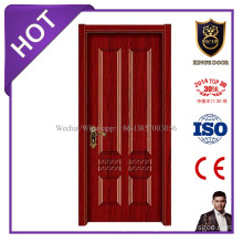 Entry Door Type and Interior Position 4mm Melamine HDF Door with Frame