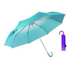 Parapluie léger en aluminium compact Rainbow (YS-3FM21083949R)