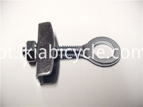 Black CNC Axle Chain Adjusters