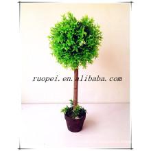 2014 nuevo árbol decorativo de la bola del topiary de China