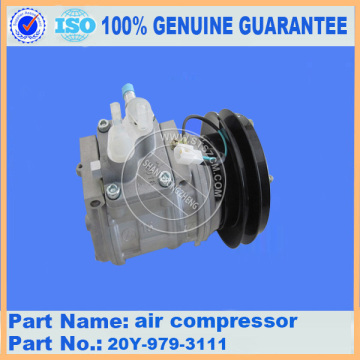 PC220-6 COMPRESSOR DE AR ​​20Y-979-3111