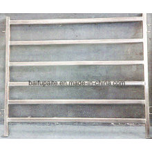 Panneaux de clôture en aluminium avec porte pour bétail facilement assemblés et démontés