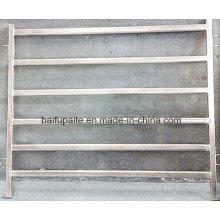 Painéis de vedação de alumínio com portão para gado facilmente montados e desmontados