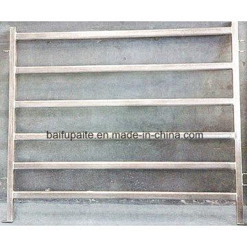 Aluminiumzaun-Platten mit Tor für Viehbestand leicht zusammengebaut und auseinandergebaut