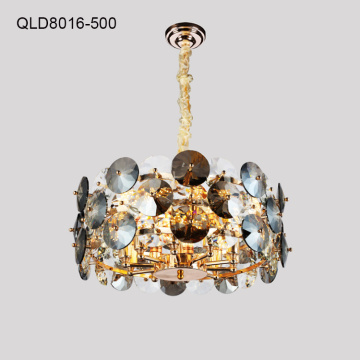 modern golden chandelier decorative indoor lighting