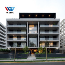 Multi-storey Commercial High Rise Steel Structure Residential Building