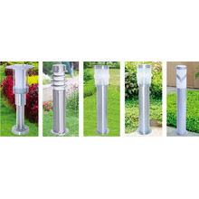 Lámpara solar de jardín / luz con alto grado 9W