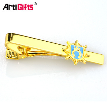 2016 Wholesale cheap custom metal tie clip with tie clip box