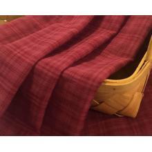 Baumwolle Rayon gefärbt Karo Shirt Stoff