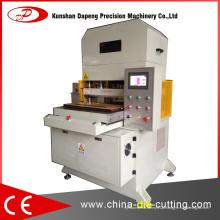Máquina cortadora de corte semi-cortada automática para materiais escamosos