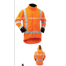 High Visibility Jacket with Waterproof
