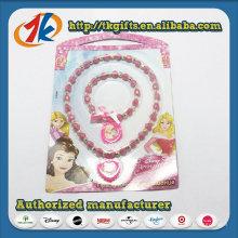 Großhandel Kunststoff Halskette und Armband Spielzeug für Mädchen