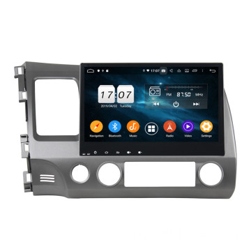 Android 9 DSP Car Audio для CIVIC 2006-2011