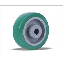 Rodas de poliuretano de preço de fábrica com PP Center