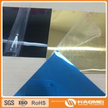 Bande de bobine à miroir en aluminium laminé filée filmée pour éclairage