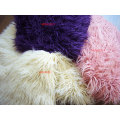 Plain Imitation Tan Sheep Faux Fur