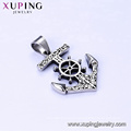 33431 xuping  fashion design Stainless Steel jewelry Viking Anchor shape cross pendant