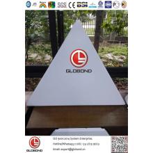 Твердая алюминиевая панель Globond (GL037)