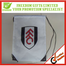 Most Popular Best Selling Promotional Polyester Vinyl Drawstring Bag