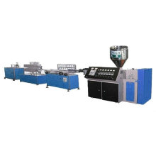 PVC/PE/PP Small profile making machine