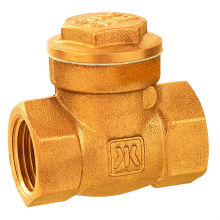 forged brass swing check valve DR brass