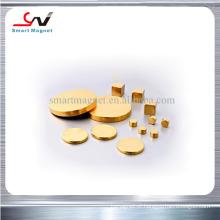 Íman de ouro de neodímio de preço barato de alta qualidade quente de alta qualidade