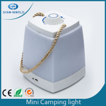 Bright White Cuboid Adjustable Led Soft Camping Lantern