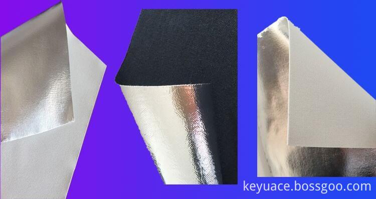 Anti Corrosion Fireproof Aluminum Foil Fiber Glass Cloth