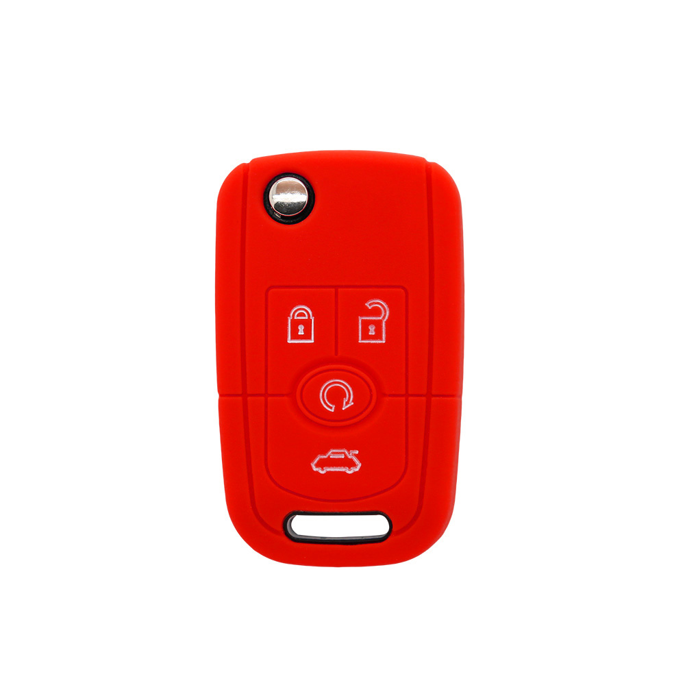 Buick 4 Buttons Silicon Key Cover