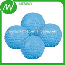 China-Fabrik-Fertigung Fertigen Sie Soem-Gummi-Spielzeug-Kugel besonders an